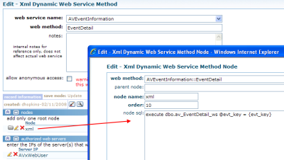 xWeb: ExecuteMethod Advanced C#